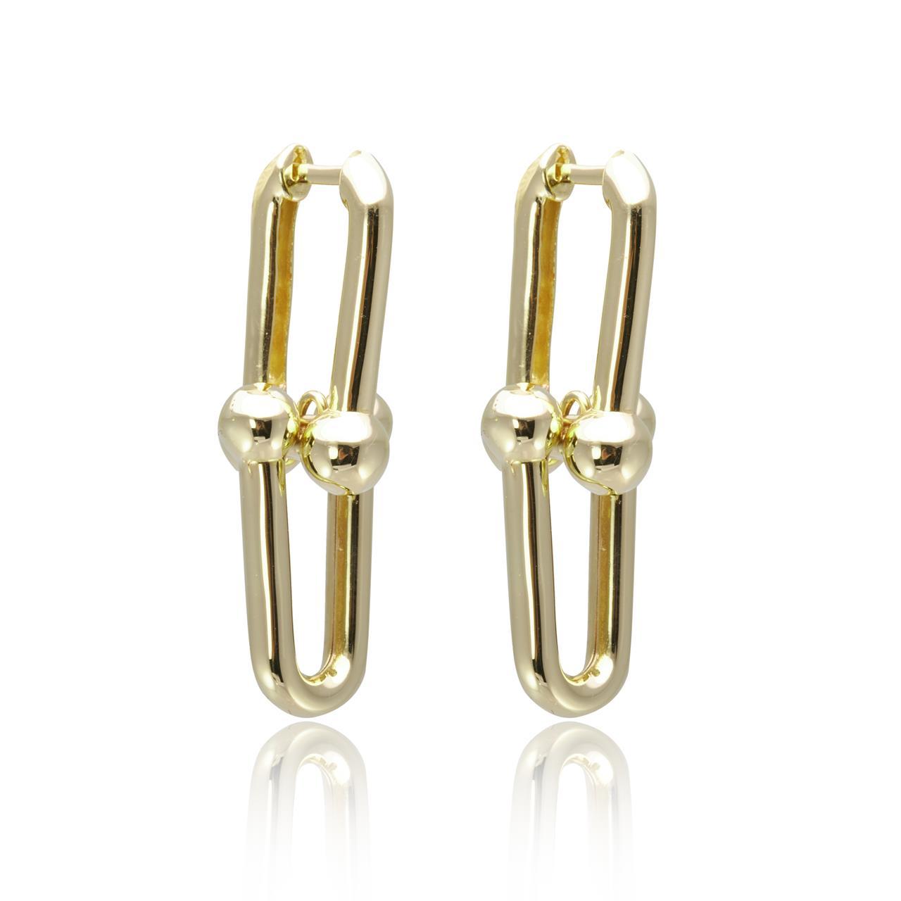 Cetaş Altın Tiffany Model Küpe